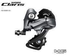 Переключатель задний SHIMANO CLARIS RD-R2000, 9 скор., крепление (на болт) под петух, HG Hyperglide, GS