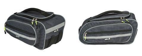 Велосумка COURSE Just-3 на багажник, влагозащищенная, нейлон, 40x20x17 см (вс097.040.1.1)