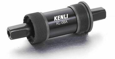 Каретка-картридж Kenli, промподшипник, чашки стальные, SQR, 68 мм, 116 мм (RBSKL08A0003)