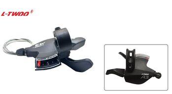 Рукоятка переключения передач правая, L-TWOO, триггер, 8 скор., SL-V4008-8W, A-3