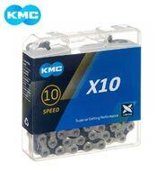 Цепь KMC (X-10) 10 скор. (116 звеньев) 5,85-6,20 мм, с замком, инд. упаковка (KMC-X10)